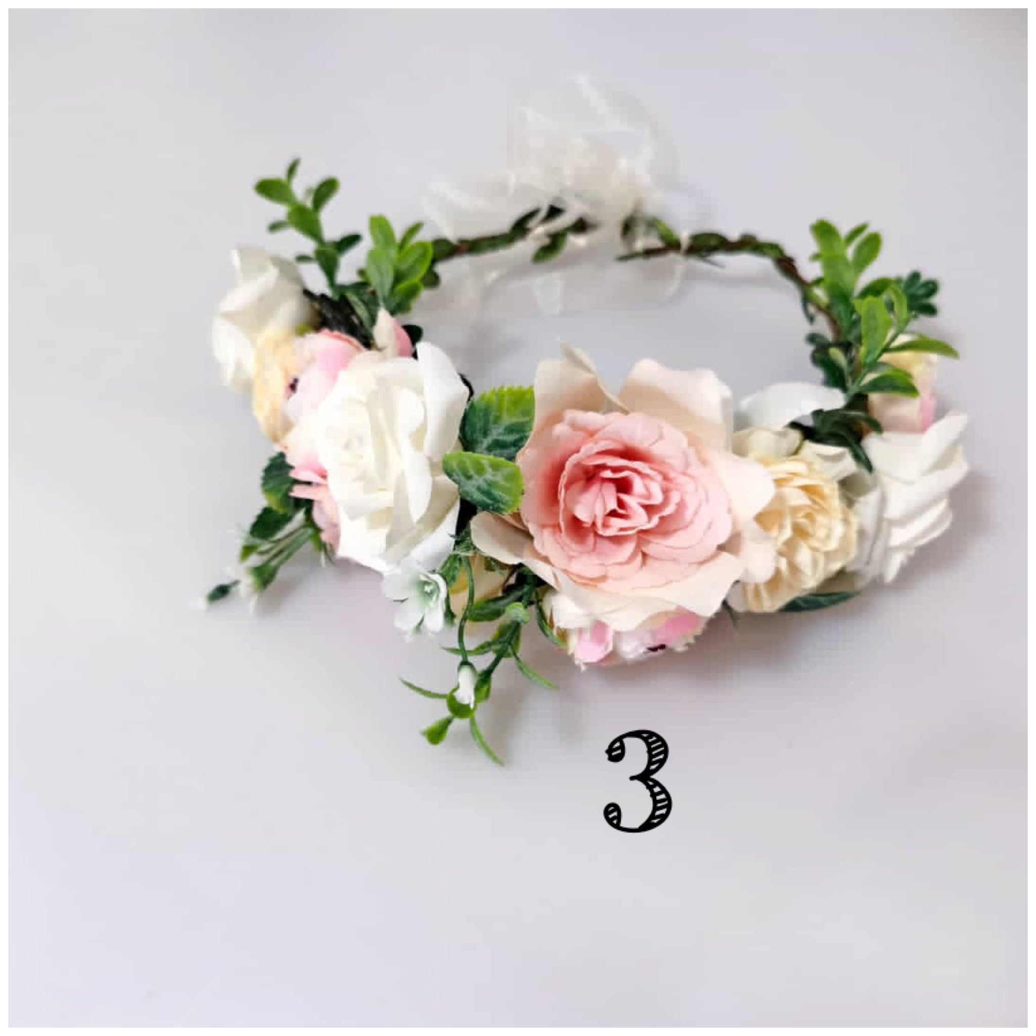 Lux Flower Crowns-3 Styles