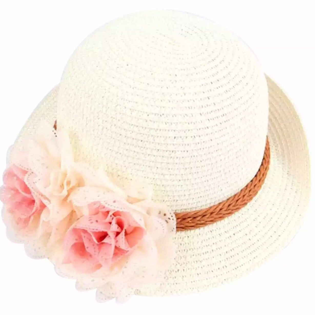 Flower Straw Hats