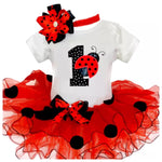 Lady Bug Birthday Outfit