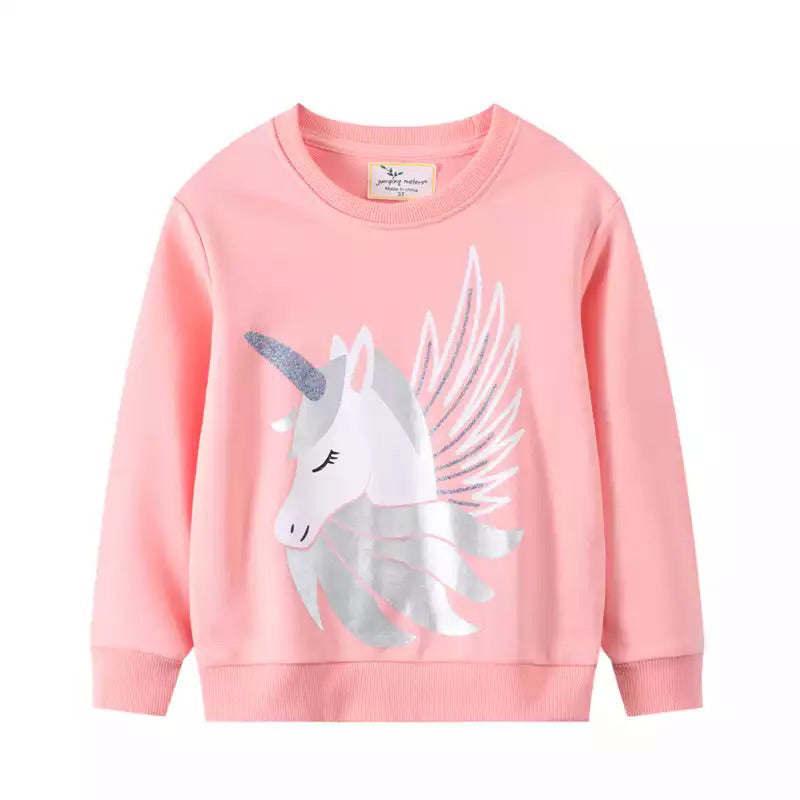 Pink Unicorn Jumper