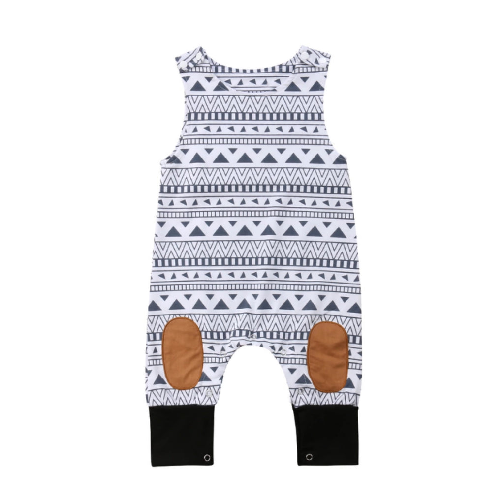 Pattern Patch Romper