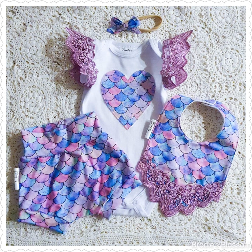 Handmade Mermaid Set