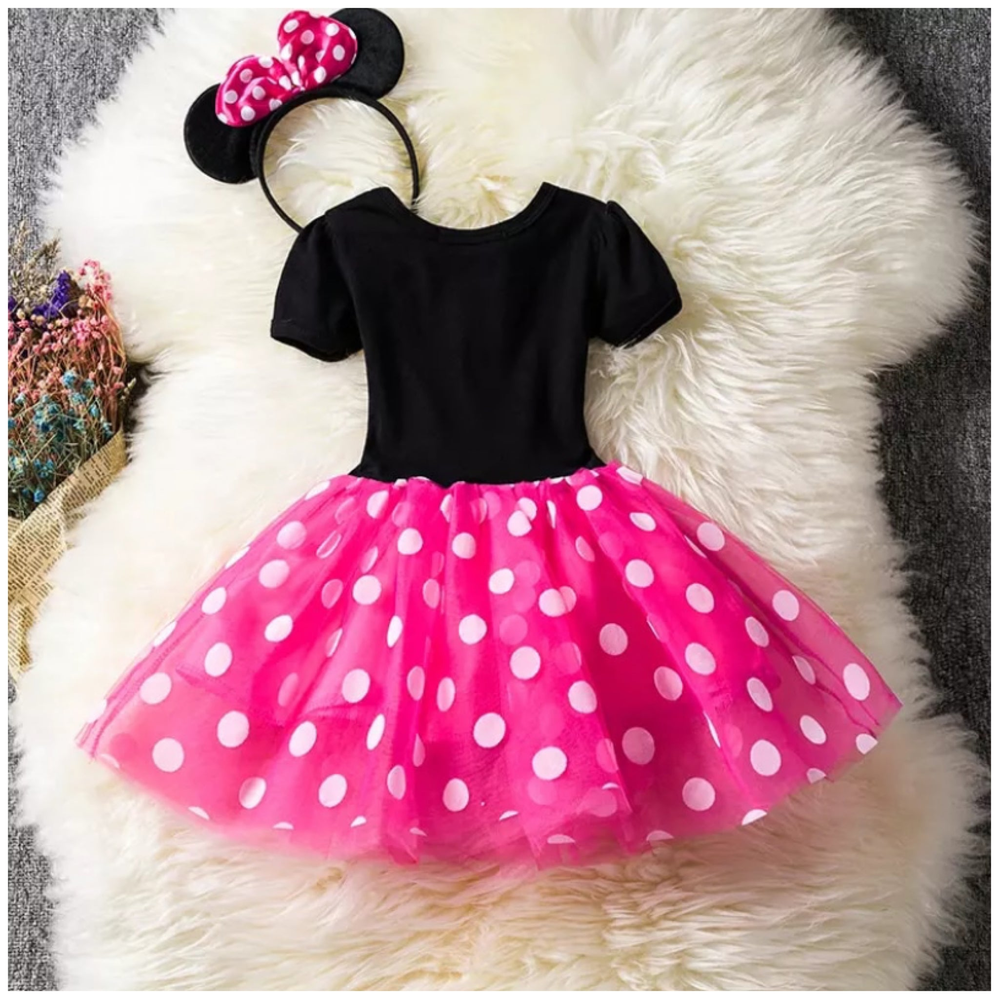 Minnie 2nd Birthday Dress Set