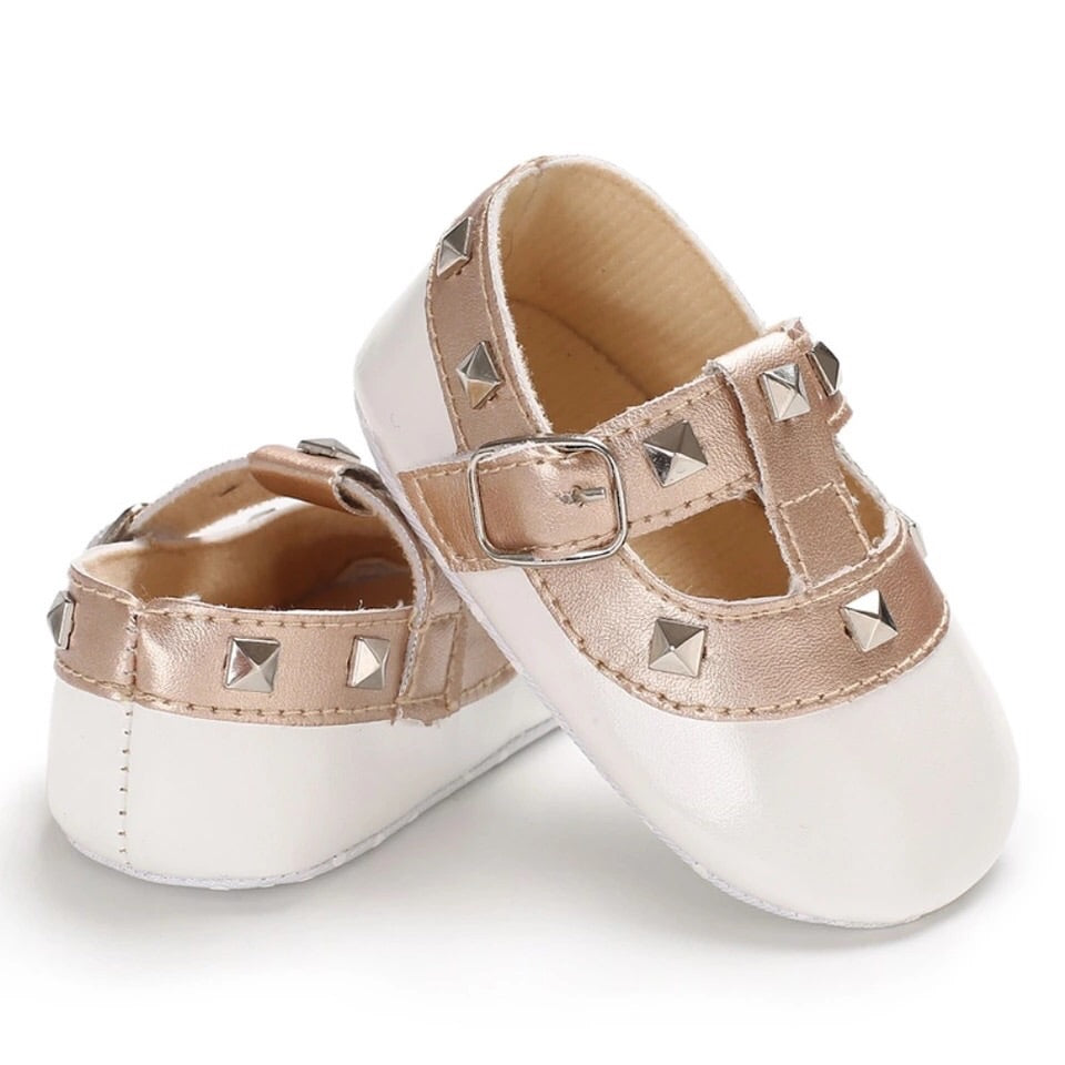 Baby-Pre-walker-Studded-T-bars-White