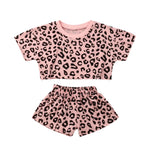 Leopard Crop Set