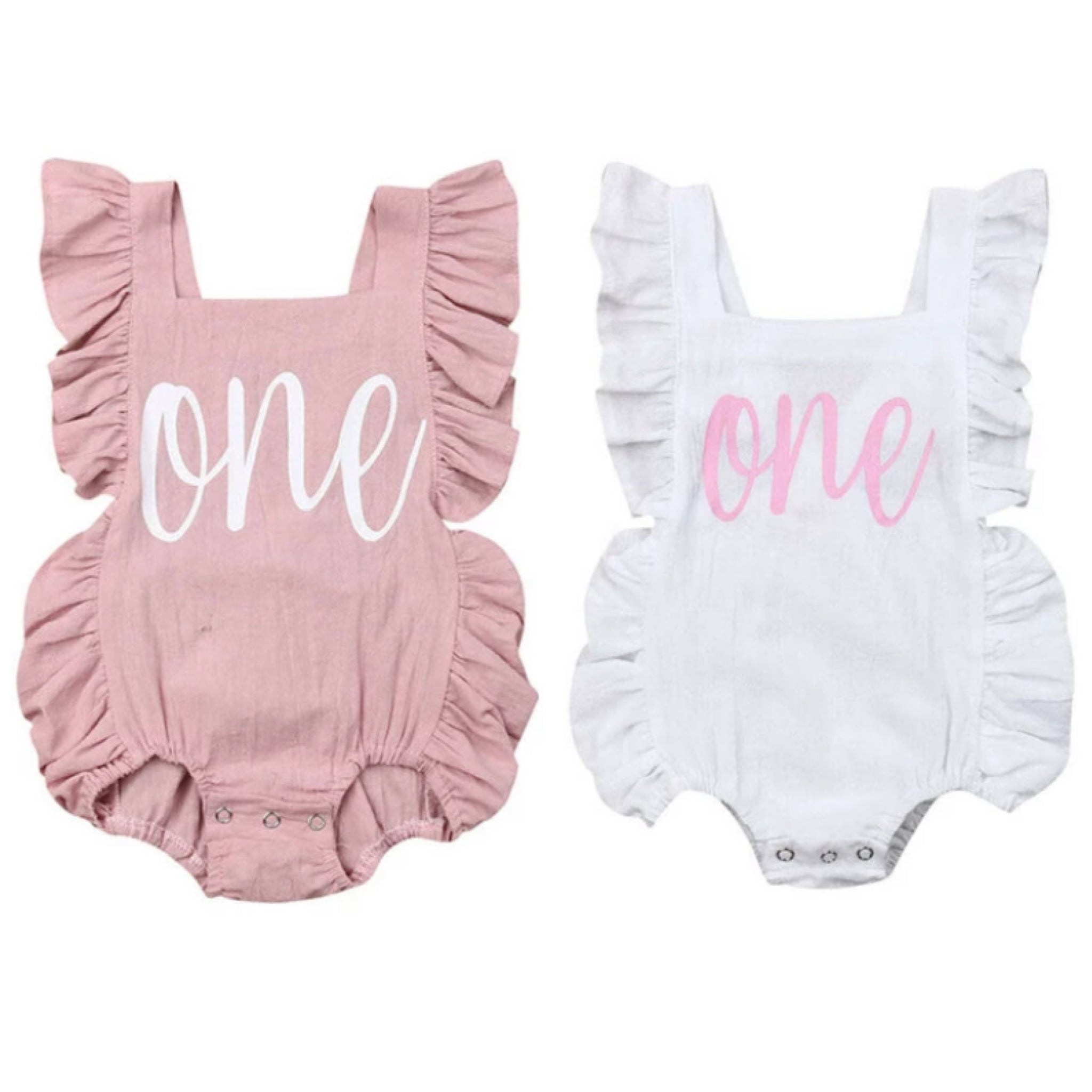 One Birthday Romper