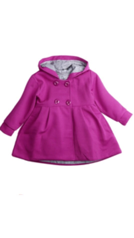 Emma Hooded Coat