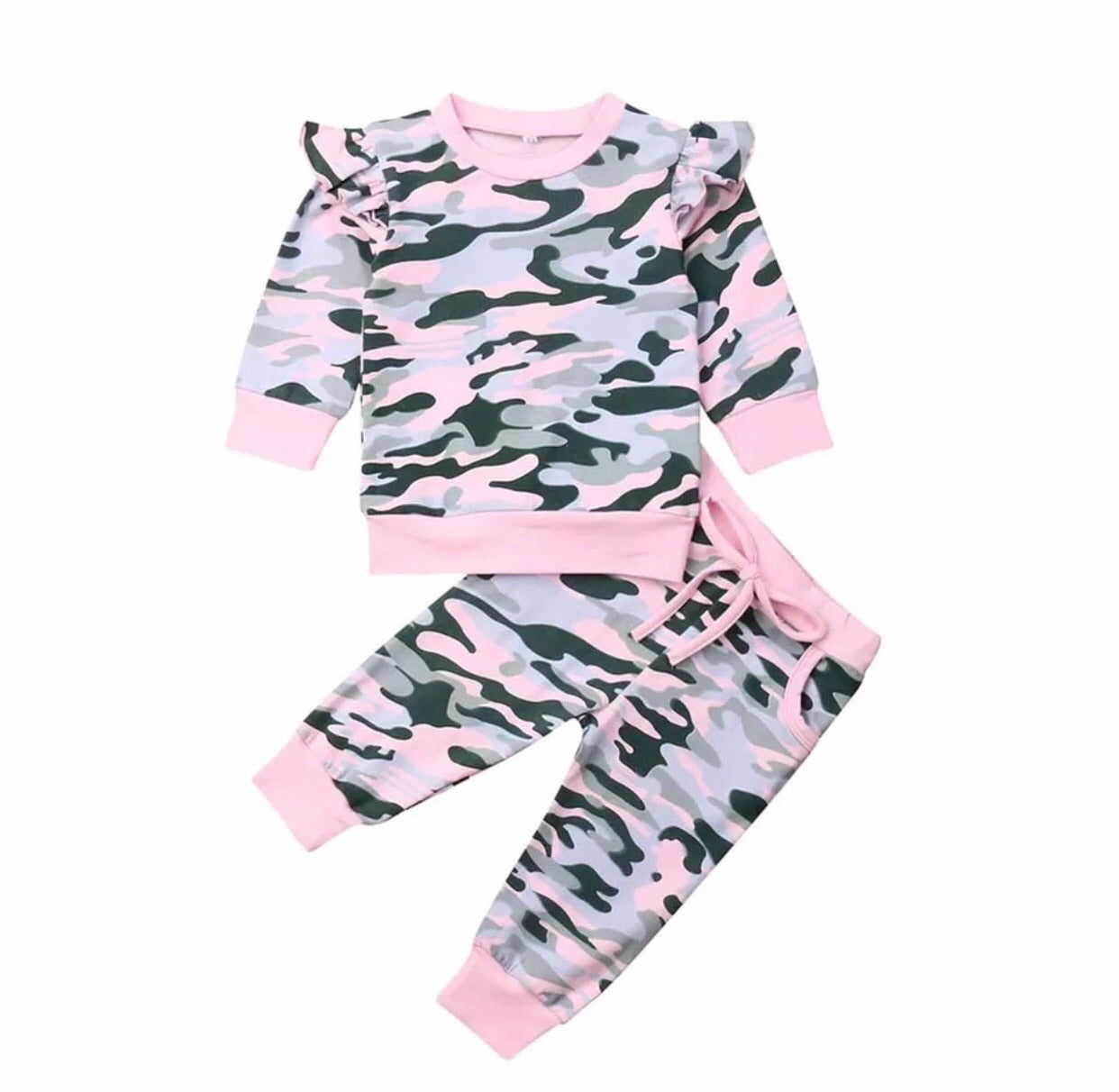 Pink Camo Tracksuit