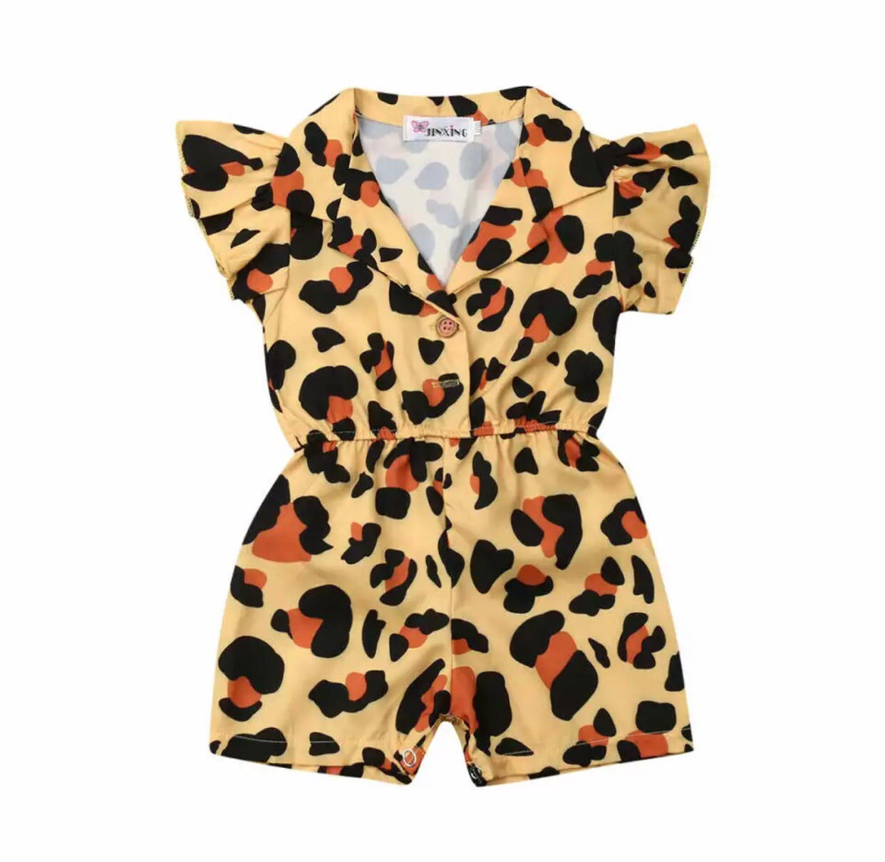 Little Leopard Jumpsuit