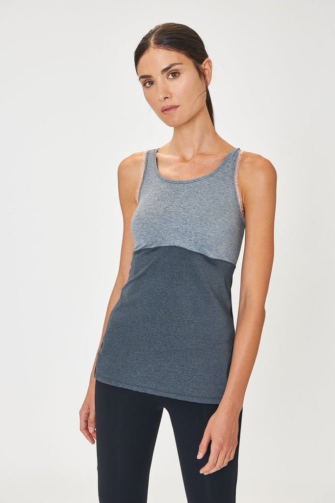 Ana Grey Tank Top - Sapopa