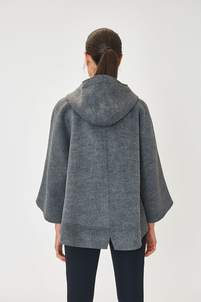 Nuvola Grey Parka Sweater