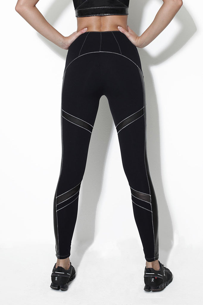 Alloy Black Leggings - Sapopa