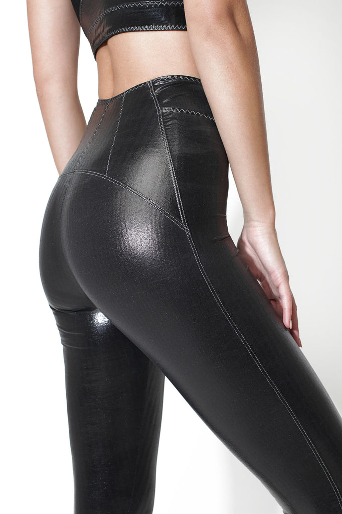Valeria Eco-Leather Leggings - Sapopa
