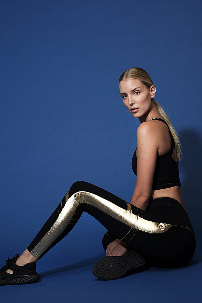Alloy Gold Leggings - Sapopa