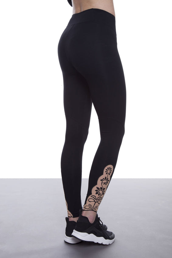 Lillà leggings
