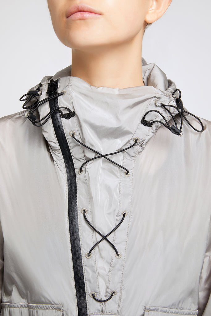 Scudo Grey Windbreaker - Sapopa