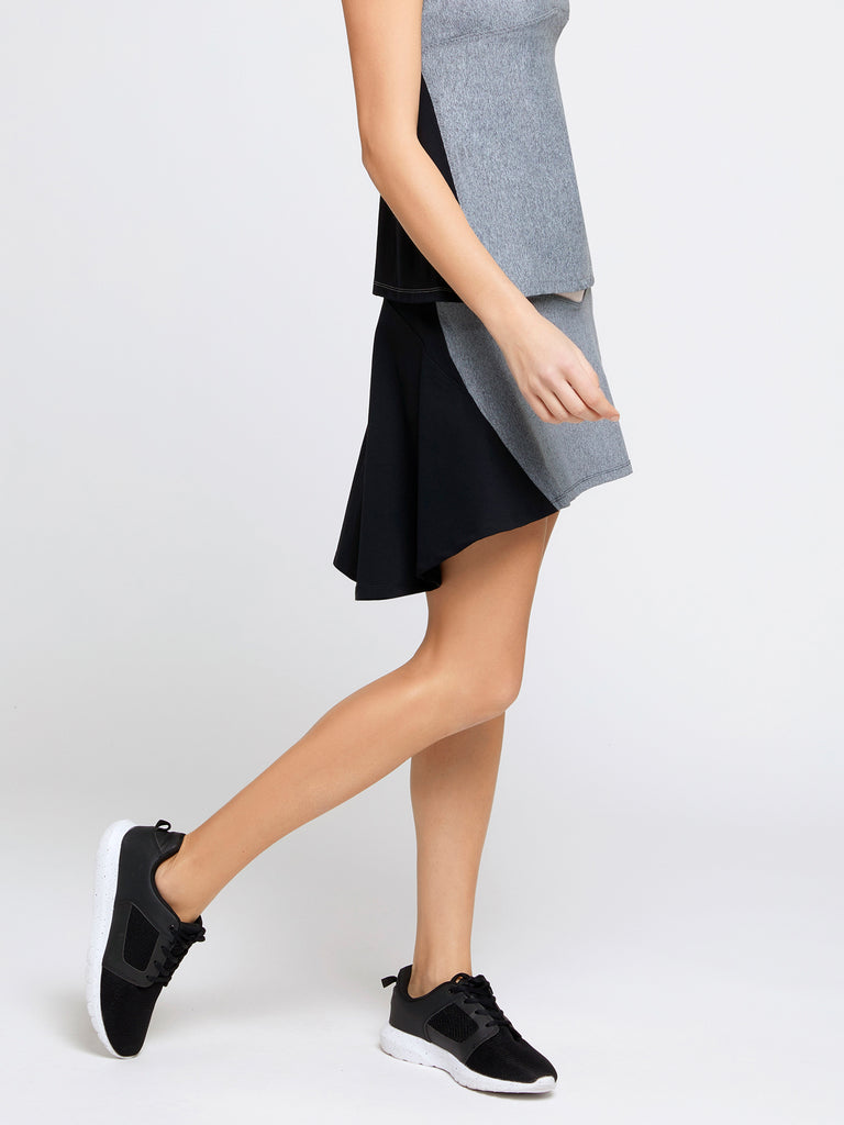 Mistral Grey/Pink Skirt - Sapopa