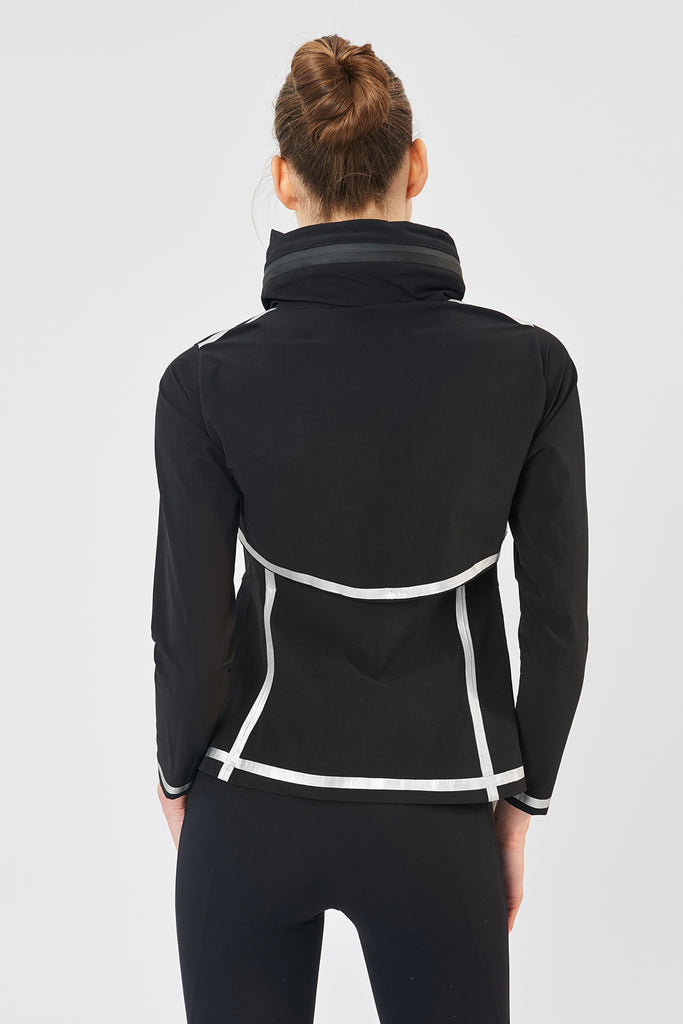 Venezia Tailored Black Jackets - Sapopa