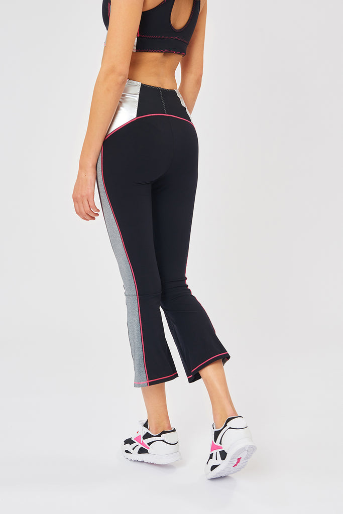 Venus Cropped Flare Leggings - Sapopa
