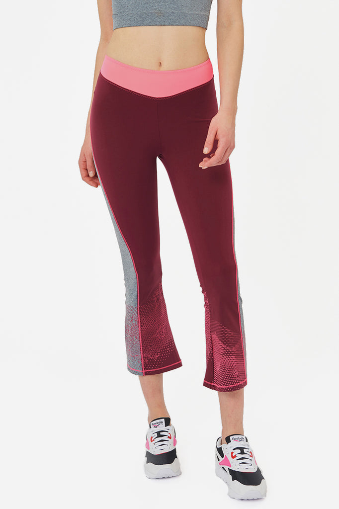 Venus Cropped Flare Leggings