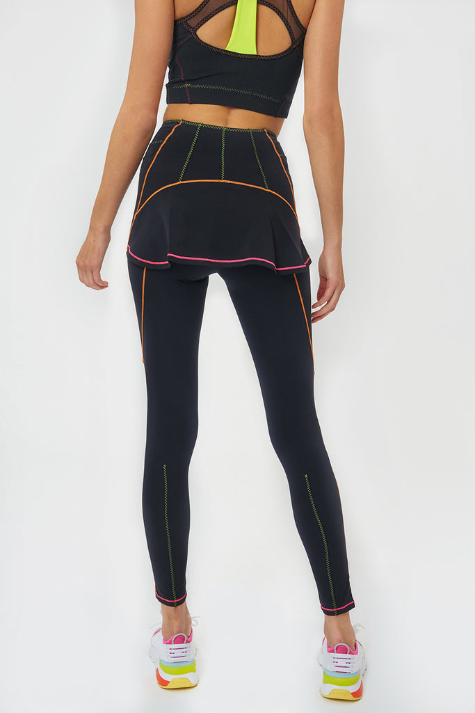 Mira Multicolor Stitching Sleggings - Sapopa