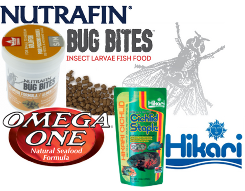 fish food, nutrafin max bug bites omega one hikari for tropical gold fish cichlid fish