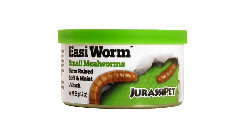 LJ52 Jurassi-Diet Easi Worm - Small 35g ^8452 Pet Essentials,  Hollywood fish farm, Jurassipet, bearded dragon cricket, cricket for fish, reptile food