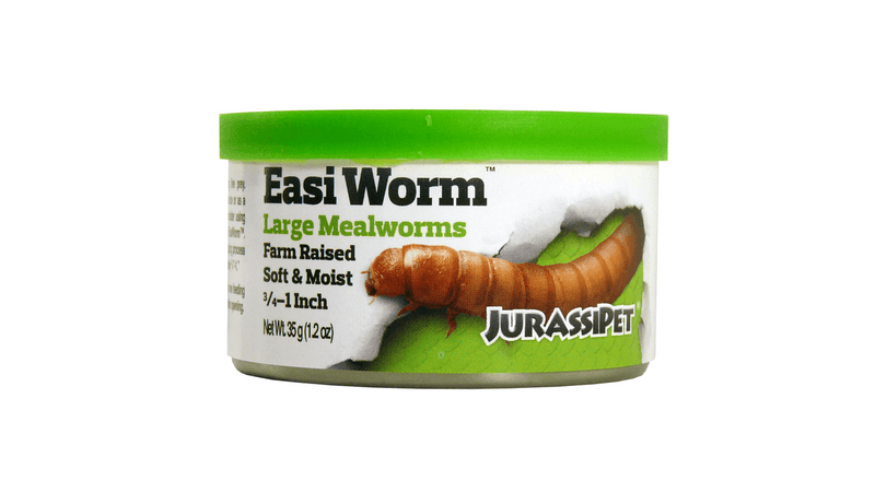 Jurassi-Diet Easi Worm - Large 35g ^8462, Pet Essentials, Hollywood fish farm, Jurassipet, bearded dragon cricket, cricket for fish, reptile food