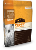 Acana Puppy Large Breed 11.4kg, Pet Essentials Stockist of acana NZ, puppy large breed biscuits, grain free dog biscuits, Pet essentials hastings, pet essentials, happy animalz taradale, pet stock hastings,