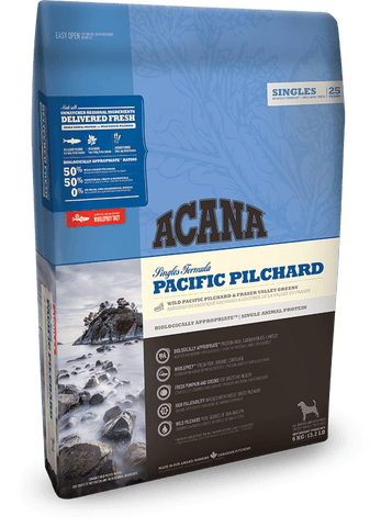 Acana Dog Pacific Pilchard 340g - Dry Biscuit - Pet Essentials Online - Pet Essentials Napier - Hollywood Fish Auckland - Pet Essentials Hastings - pet Essentials Porirua - pet stock Hastings - Animates Napier - Happy Animals Taradale - Pet Store Napier - Fishly - Pet Essentials New Plymouth - Pet Essentials NZ