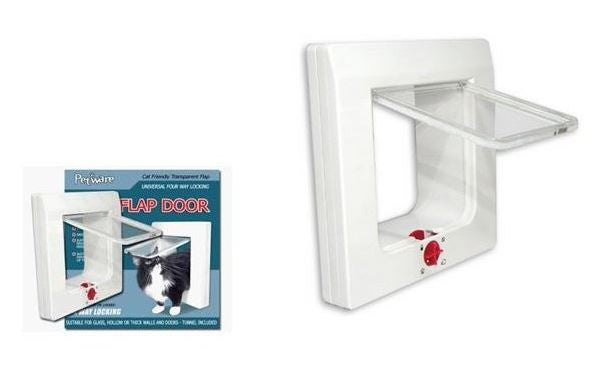 Cat Door PetWare Glass or Wood -  - Pet Essentials Online - Pet Essentials Napier - Hollywood Fish Auckland - Pet Essentials Hastings - pet Essentials Porirua - pet stock Hastings - Animates Napier - Happy Animals Taradale - Pet Store Napier - Fishly - Pet Essentials New Plymouth - Pet Essentials NZ
