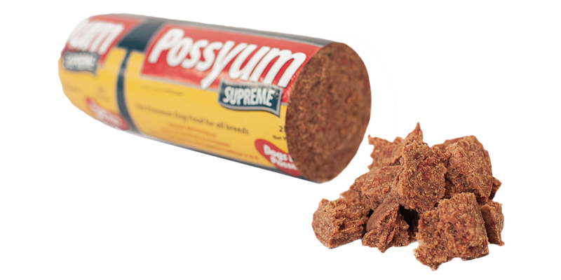 Possyum Supreme Dog Roll 2kg, Pet Essentials, Farmlands Dog roll, Pet Essentials Hastings, Animates Dog rolls, Superiorchunky