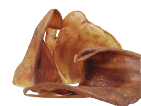 Dried Pigs Ears Dog Treat Singles