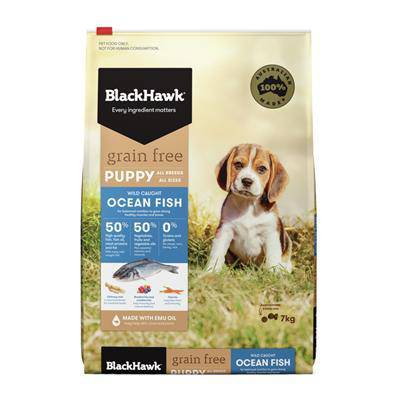 Black Hawk Grain Free Puppy Ocean Fish 7kg