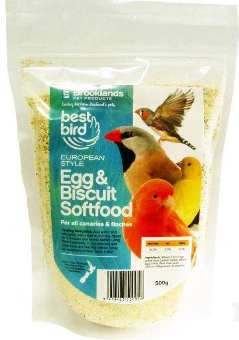 Best Bird Egg & Biscuit Softfood 500gm