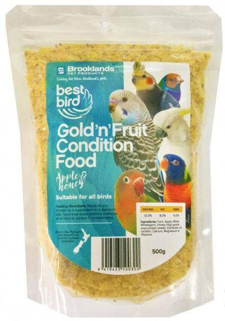 Best Bird Gold'n'Fruit 500gm
