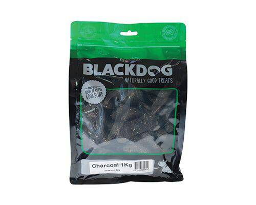 BlackDog Premium Treat Biscuits Charcoal 1kg