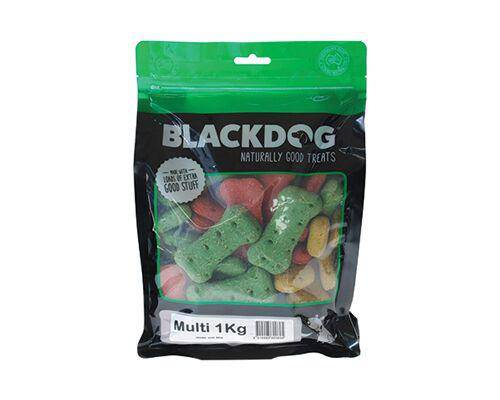BlackDog Premium Treat Biscuits Multi 1kg
