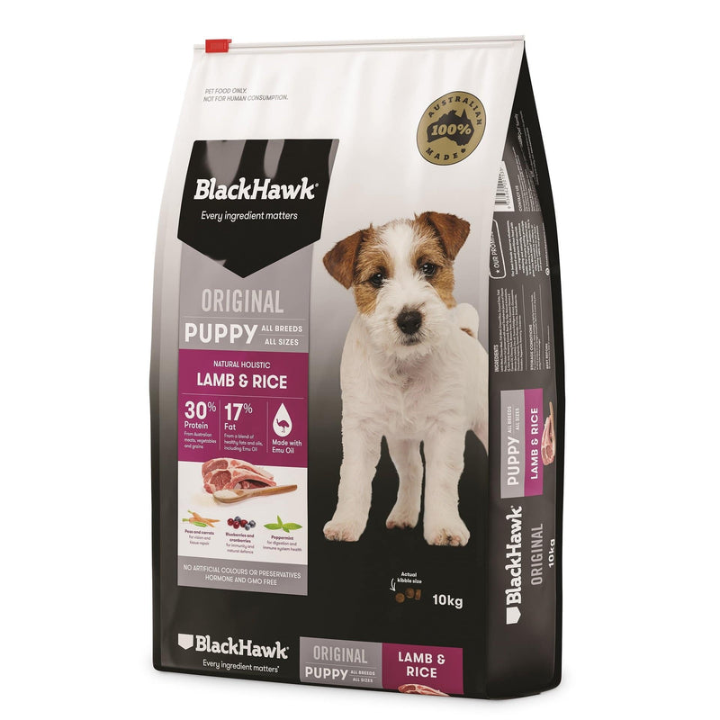 Black Hawk Lamb & Rice Puppy Food 3kg
