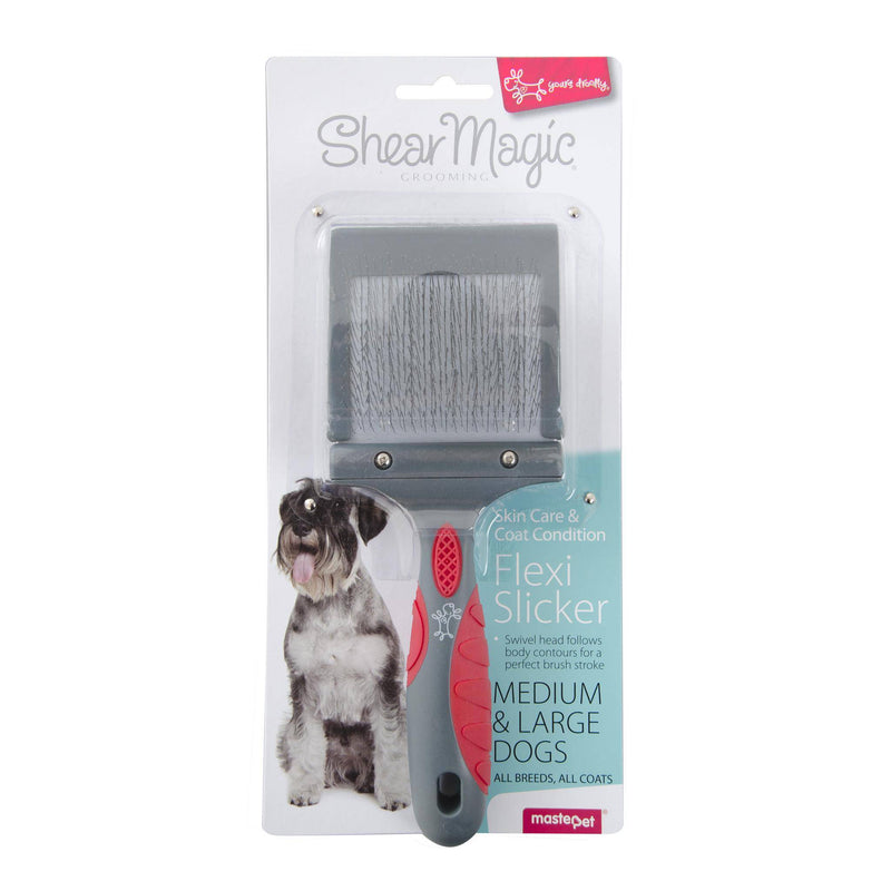 Shear Magic Flexi Slicker for Medium to Large Dogs
