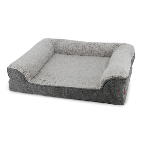 Daydream Orthopaedic Dog Lounger Grey Small