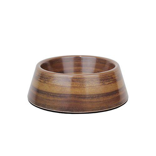 Barkley & Bella Melamine Bowl Acacia Wood Medium