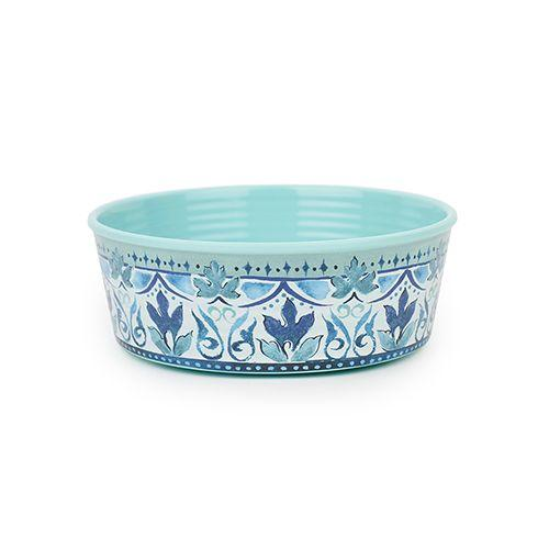 Barkley & Bella Single Wall Melamine Bowl Fresco Large