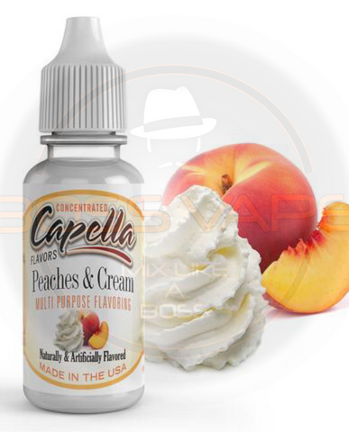 Peaches and Cream Flavor CAP - Boss Vape