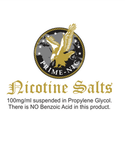 Prime Nic Salts - Nicotine Salts 100mg - Boss Vape