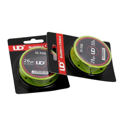 UD SS 316L Wire (Stainless Steel) 26ga - 10m