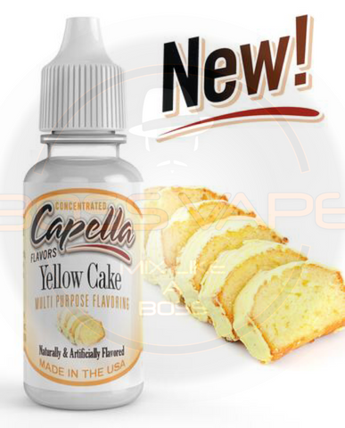 Yellow Cake Flavor CAP - Boss Vape