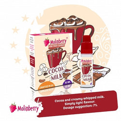 Molinberry Pack (M-Line) - Cocoa Milk 15ml
