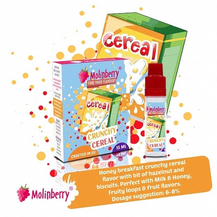 Molinberry Pack (M-Line) - Crunchy Cereal 15ml