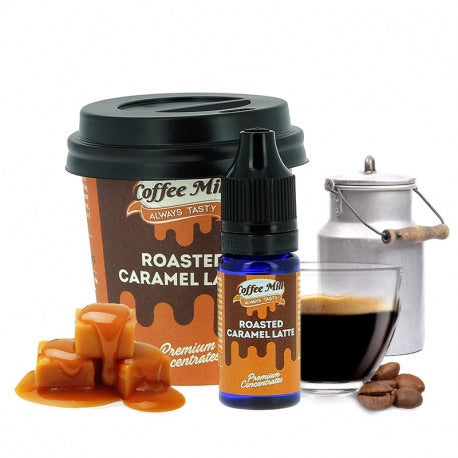 Roasted Caramel Latte - Coffee Mill One Shot 10ml - Boss Vape